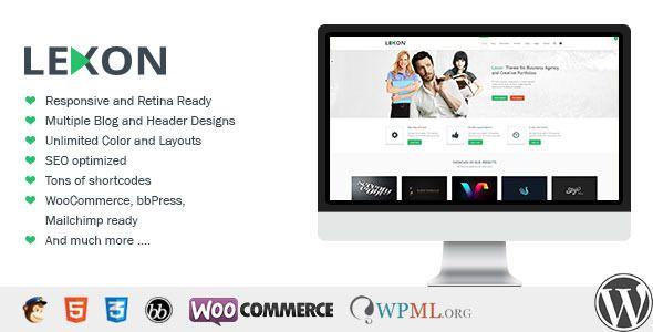 Lexon – WP, it is a super flexible, unique multiple purpose theme with WooCommerce and bbPress.