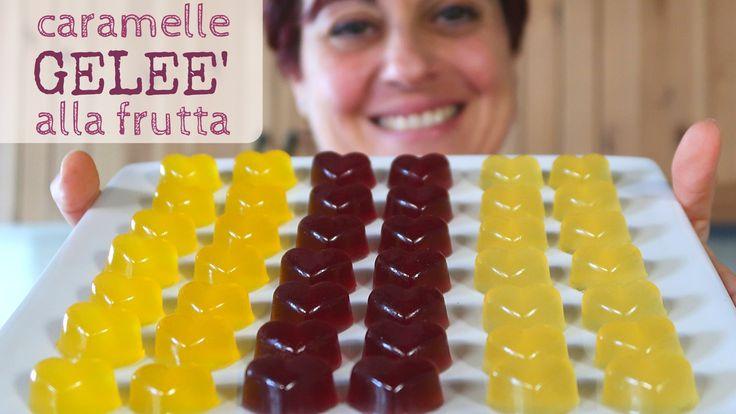 Caramelle Geleè alla Frutta Ricetta Facile - Fruit Jelly Candies Easy re...