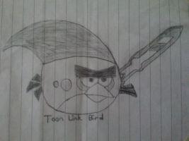 The Legend of Angry Birds Zelda - Toon Link Bird by Alex-Bird