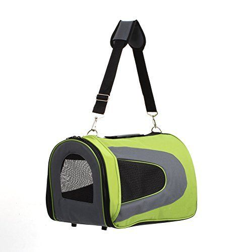 Dog Carrier Purses - Amzdeal Portable Pet Carrier Travel Carrying Shoulder Bag for DogsPuppies and Cats 18 Inch ** For more information, visit image link. (This is an Amazon affiliate link)