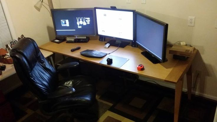 My home desktop! Great for triple screen gaming, monitoring lots of servers & security cameras!