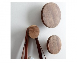 Dot Coat Hooks from CB2; copy of high end DWR ones. As seen on Remodelista