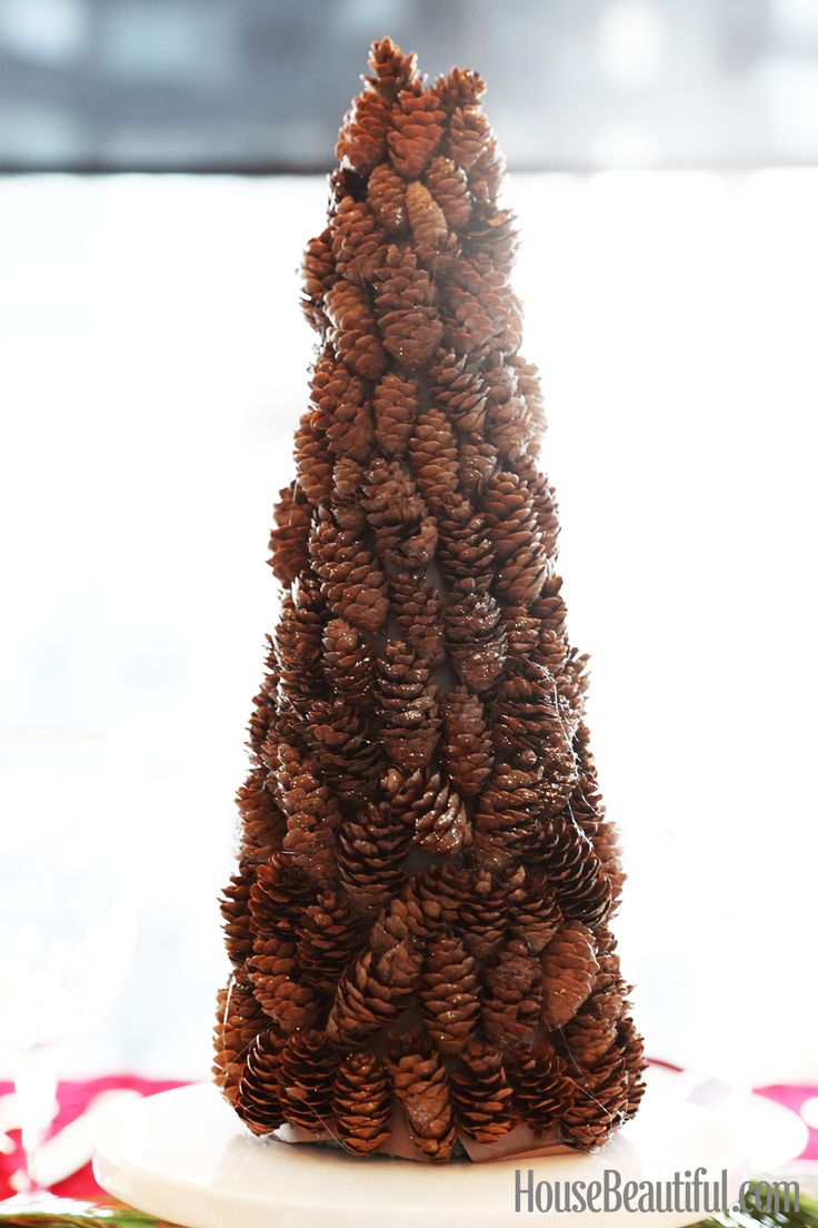 25 unique pine cone tree ideas on pinterest christmas. Black Bedroom Furniture Sets. Home Design Ideas