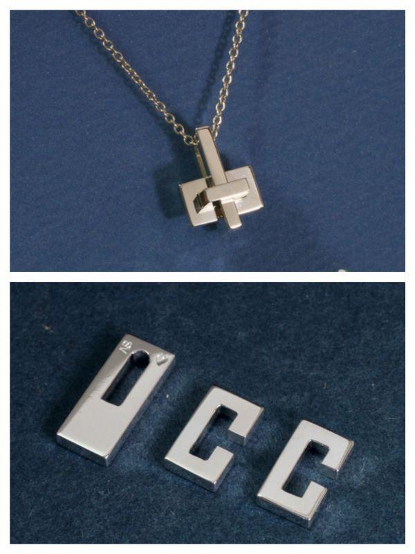 OCC Puzzle Pendant
