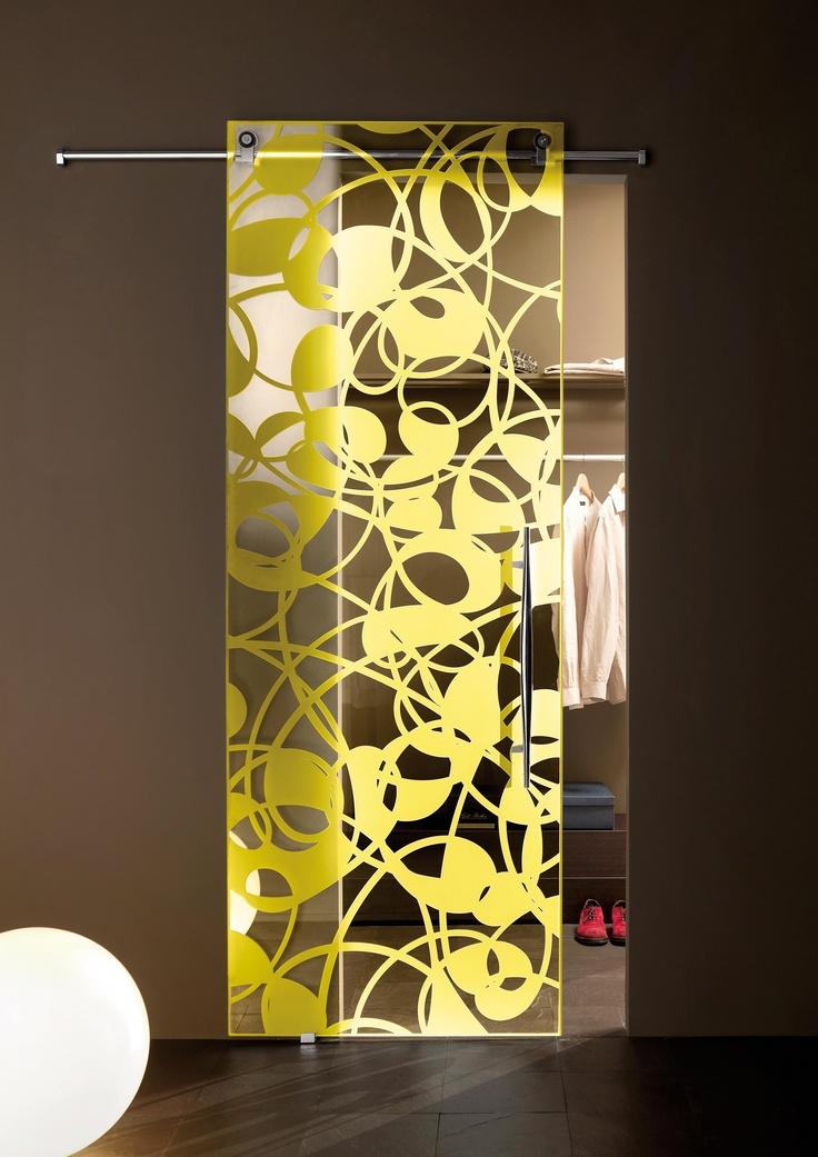 Crystal Door Fly Color by @Malia Casali . #colour #design #interiors