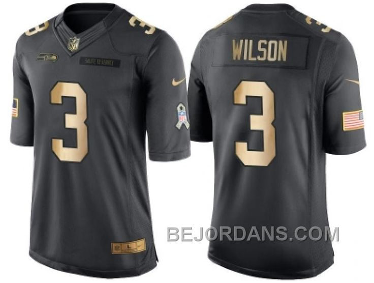 http://www.bejordans.com/free-shipping-60-off-nike-seattle-seahawks-3-russell-wilson-anthracite-2016-christmas-gold-mens-nfl-limited-salute-to-service-jersey.html FREE SHIPPING ! 60% OFF! NIKE SEATTLE SEAHAWKS #3 RUSSELL WILSON ANTHRACITE 2016 CHRISTMAS GOLD MEN'S NFL LIMITED SALUTE TO SERVICE JERSEY Only $20.00 , Free Shipping!
