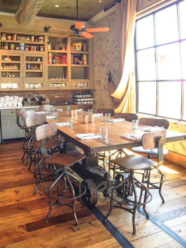Train Crank Table. Industrial Dining RoomsVintage Industrial  FurnitureIndustrial ...