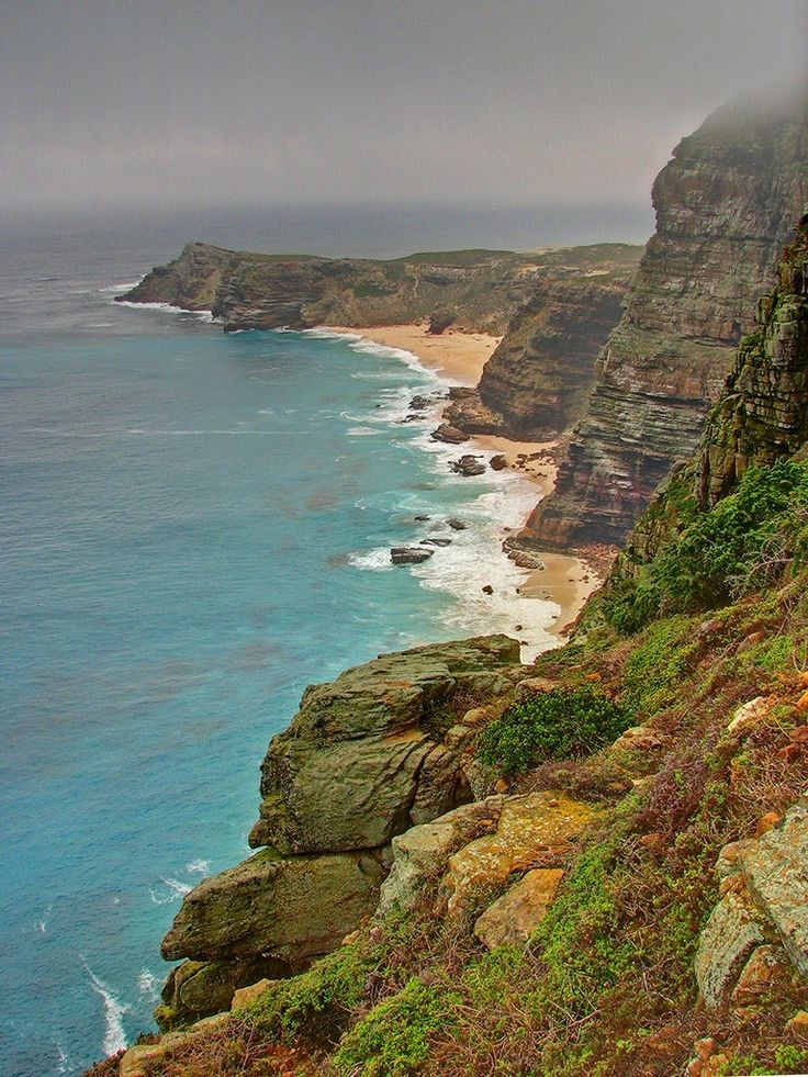 From Cape Point across Dias Point, Dias Beach, Cape Maclear and the Cape of Good Hope ...