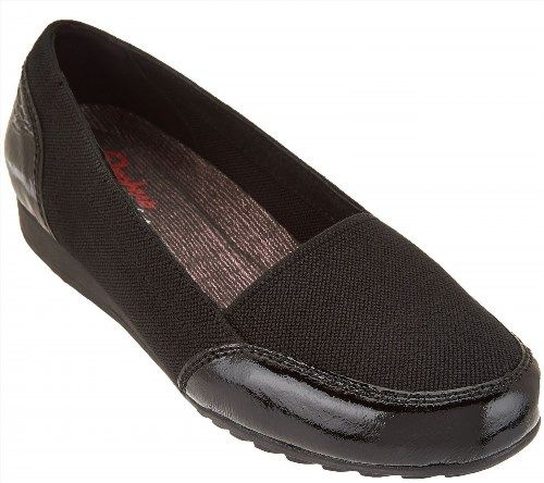 60.37$  Buy here - http://viekb.justgood.pw/vig/item.php?t=2f2qbf11413 - Skechers Trendy Relaxed Fit Slip-on Shoes Rome Alla Mode Black 7.5M NEW A276344 60.37$