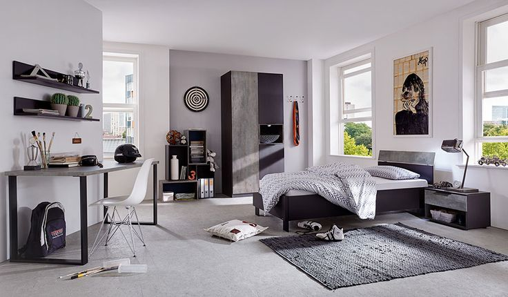 chambre ado contemporaine