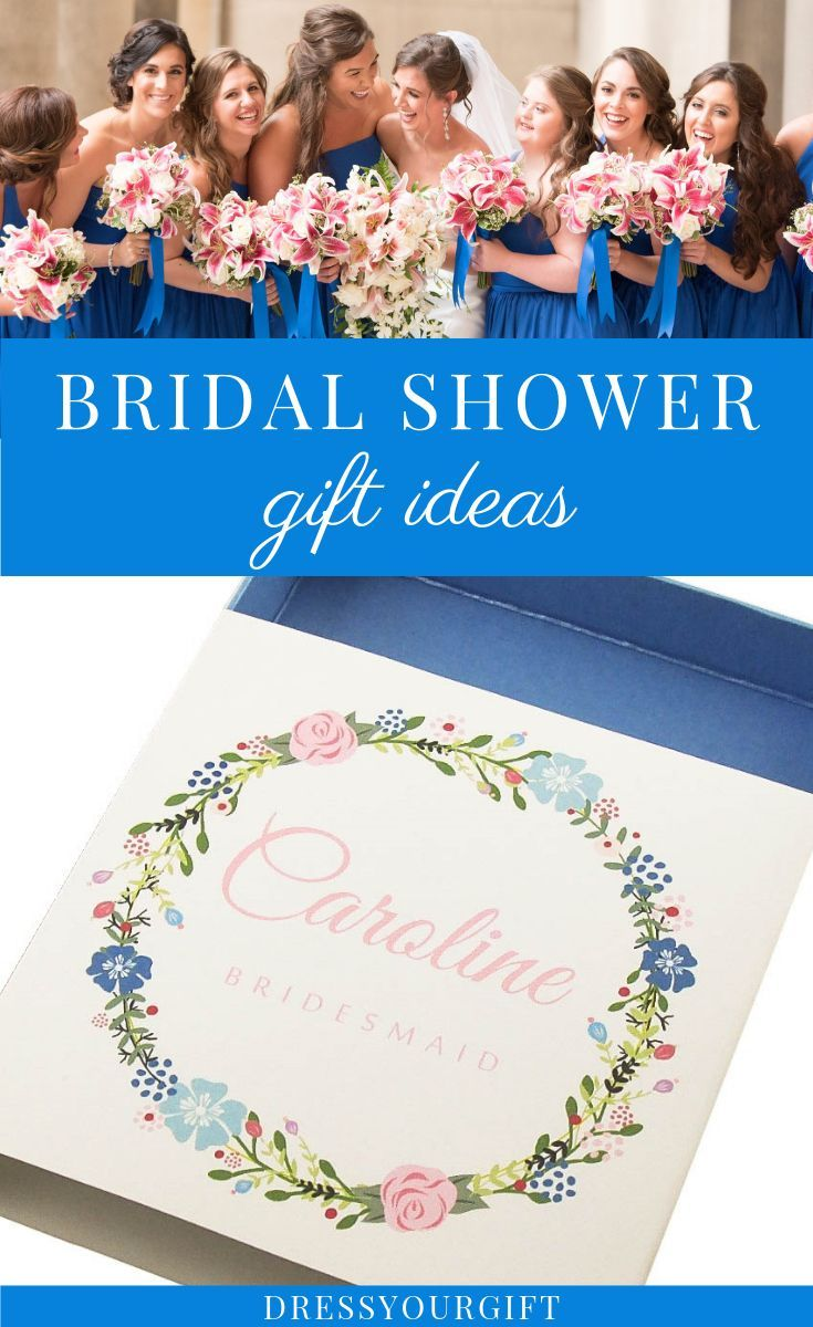 Looking For Unique Bridal Shower Gift Ideas Click To Discover The Collection And All The C Bridesmaid Gift Boxes Unique Bridal Shower Gifts Blue Bridal Shower