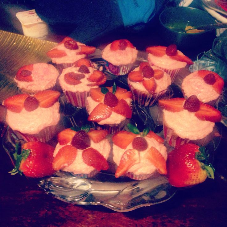 Cupcakes Champagne&Strawberries