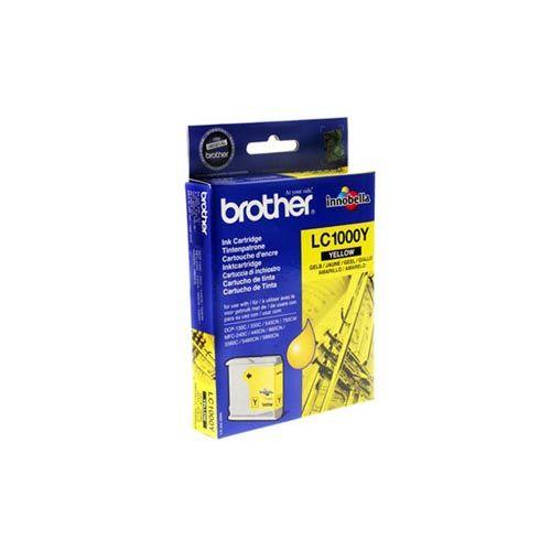Cartuccia Inchiostro Inkjet Brother LC-1000Y Giallo - https://www.cancelleria-ufficio.eu/p/cartuccia-inchiostro-inkjet-brother-1000y/