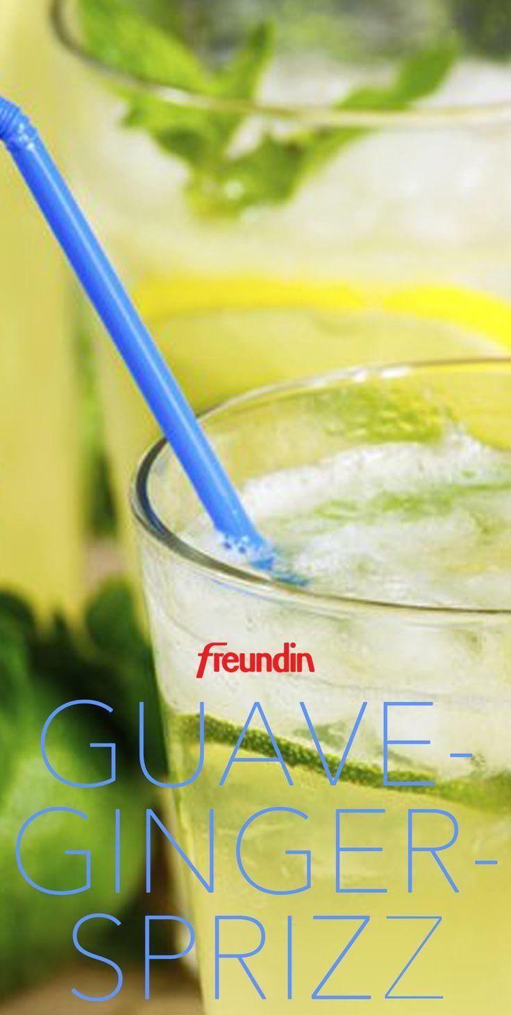 Sommer Drink Ohne Alkohol Diese Alkoholfreie Erfrischung Darf Auf Keiner Garten Mit Bildern Drinks Ohne Alkohol Guave Alkoholfrei