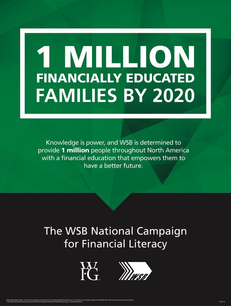 The WSB National Campaign for Financial Literacy: 1 ...