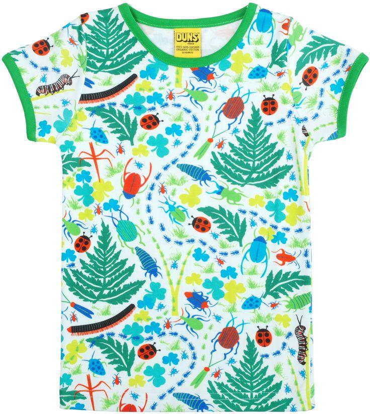 Fair Trade & Organic Bug T-Shirt made by Duns Sweden