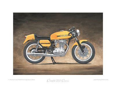 Motorcycle Art - Steve Dunn