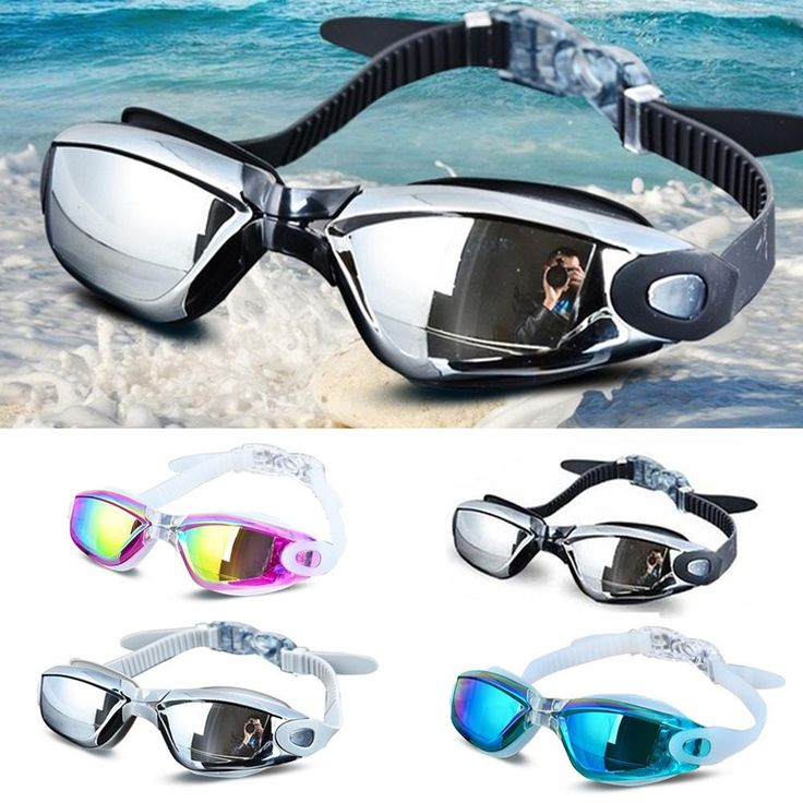 2016 Men Women Anti Fog UV Protection Swimming Goggles Professional Electroplate Waterproof Swim Glasses
