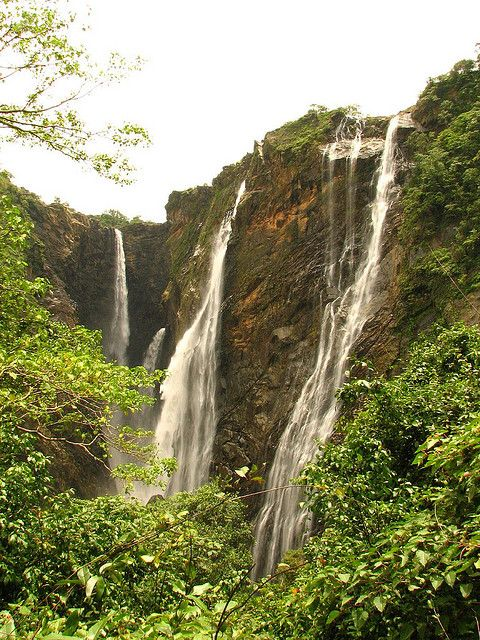 Jog Falls in India. | Stunning Places #Places