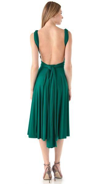 Emerald open back