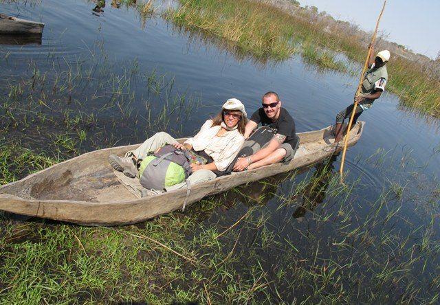 Safari Australe Ovest #4: a bordo dei mokoro sull'Okavango