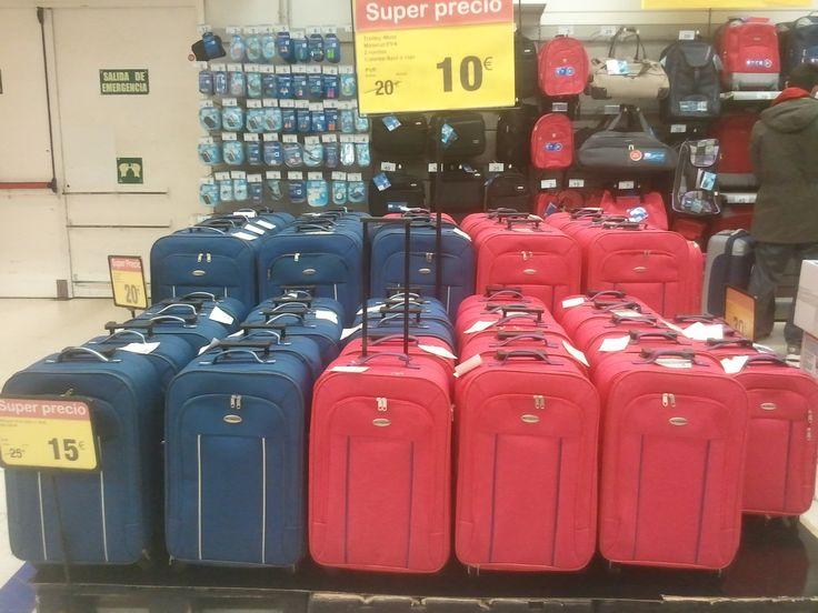 Ofertas de maletas en carrefour 10 de 46cm y 15 de 56cm - Maleta viaje carrefour ...