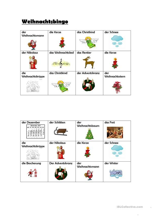 19 best Christmas images on Pinterest | German language, Learn ...