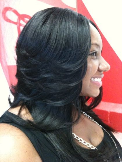 sew in layered bob hairstyles : Sew In Weave Atlanta Ga Layered Sew In Weaves::Razor Cuts:: Bob Cuts ...