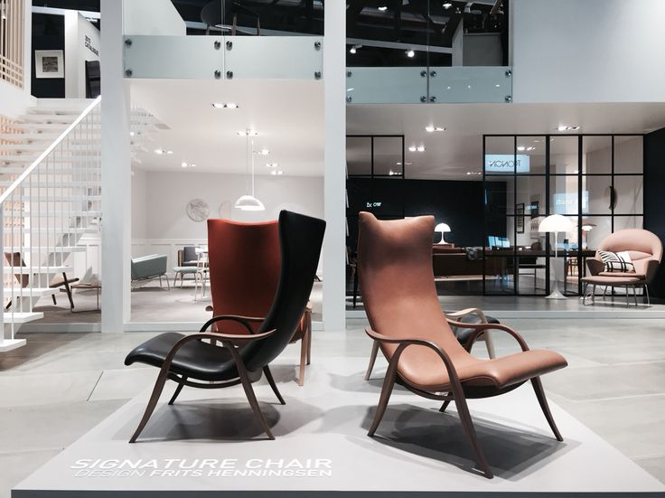 Superb Frits Henningsen Last Ever Furniture Design The Signature Chair Relaunched  By Carl Hansen ...
