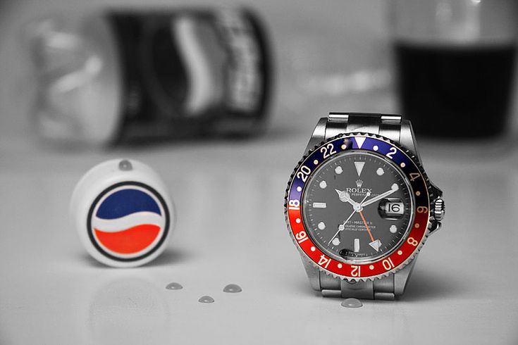 Rolex gmt-Pepsi  This watch is such a classic