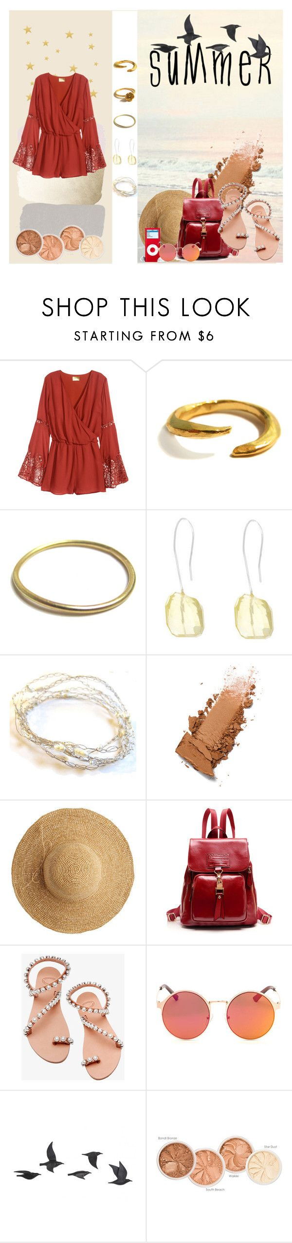 """Summer is coming !"" by ann-sarah on Polyvore featuring mode, Catherine Marche, Flora Bella, Elina Linardaki et Jayson Home  #fashion #mode #summer #is #coming #summerstyle  #summer2016 #fashionset #polyvorefashion #polyvore #chic #classy #beautiful #beach #jumpsuits #pink #choies #jewels #catherinemarche #pretty #prettypastels #bag #sunglasses #lindafarrow #rupertsanderson #hautelook #stellamccartney #kohls #makeup #colorful #earrings #necklace #bracelet #phonecase #shoes"