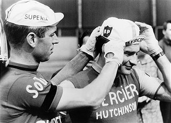 Rik van Looy & Raymond Poulidor, Tour de France 1965.