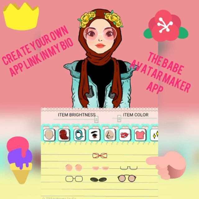 😍The Babe Avatar  Maker app 😍  Do u want to create illustrations looking avatar like this ? Use this app to create it! 👉Download link in my Bio 👈    The Babe Avatar Maker is now available for download on playstore! 👉👉 App download link in my Bio 👈👈 Lots of beautiful options to choose from including avatar with  hijab version. *if unable to save image please enable storage permissions  for this app in your  app settings . *    #illustration #art #artwork #drawing #painting #watercolor…
