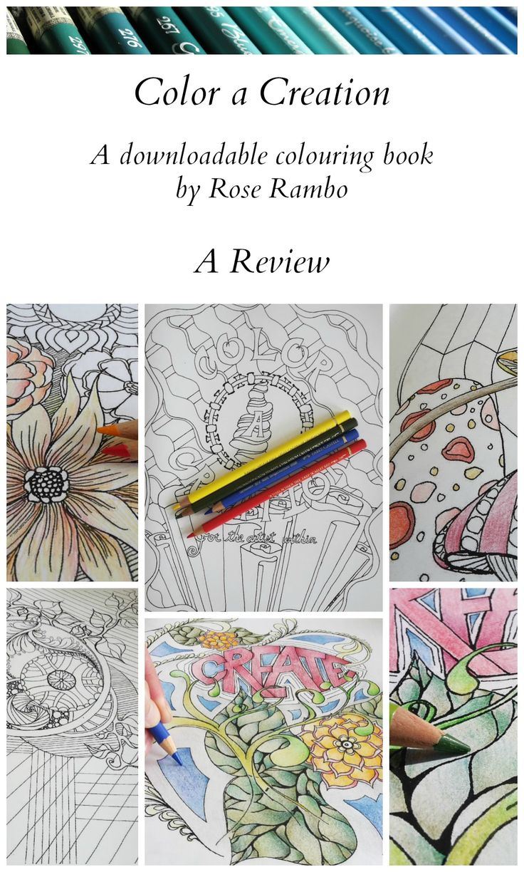 Book color line ferry - Here Is A Review Of Color A Creation A Coloring Book That Is Available As