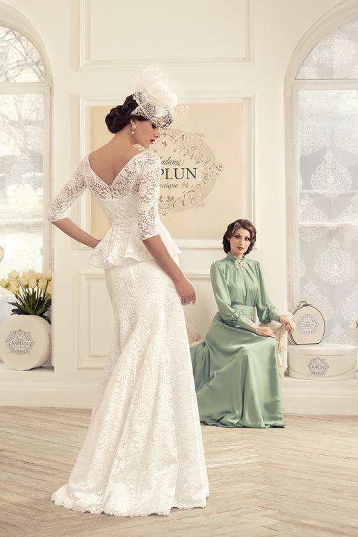 Lovely Wedding dress designer Russian Tatiana Kaplun