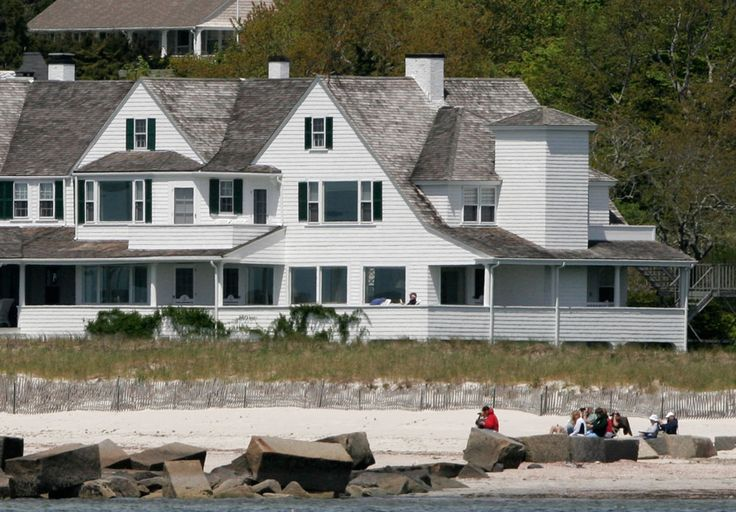 The Kennedy Compound - Cape Cod  [a lot of sadness stored in this house]