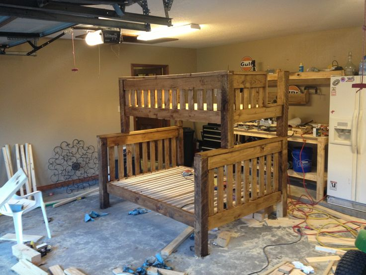 Free Plans Build Twin Over Full Bunk Bed - Downloadable Free Plans
