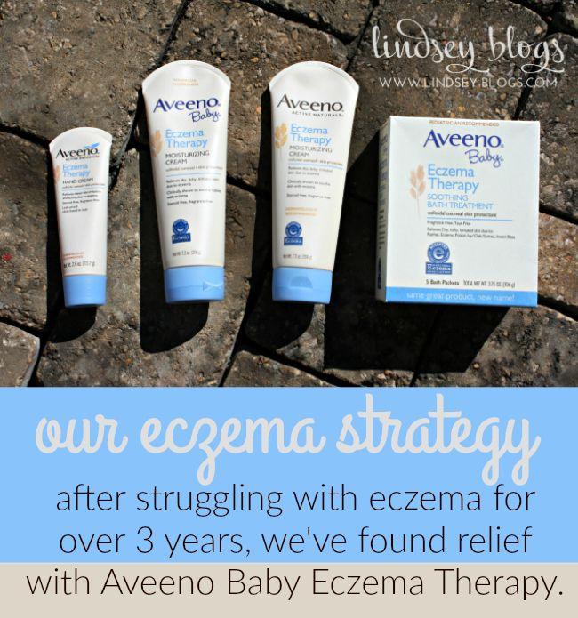 Our Eczema Strategy with Aveeno Baby Eczema Therapy ad