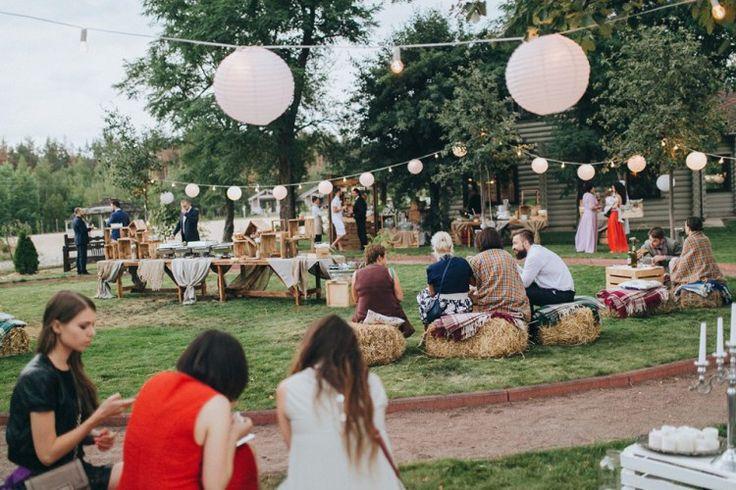Барбекю на заднем дворе: свадьба Вовы и Насти - Weddywood