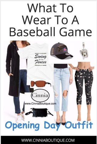 Looking for a cute baseball game outfit? We show you what to wear to a baseball game with new baseball shirts, raglan sleeve shirts, leggings and shirts for baseball moms.  https://www.cinniaboutique.com/blogs/cinnia-blog/what-to-wear-to-a-baseball-game