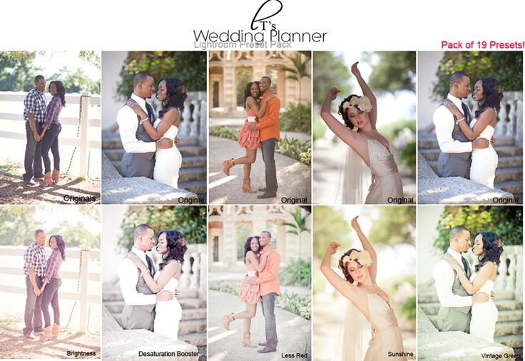 The Popular Wedding Planner Lightroom Preset Pack! <3 http://lt-photography.org/lightroom-presetss/wedding-planner-lr/