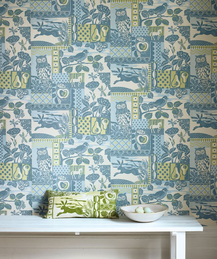Brightwood Wallpaper By Jane Churchill