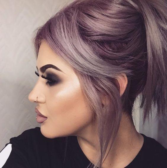 17 belles couleurs de cheveux tendance 2019 – #belles #cheveux #Couleurs #de #te…
