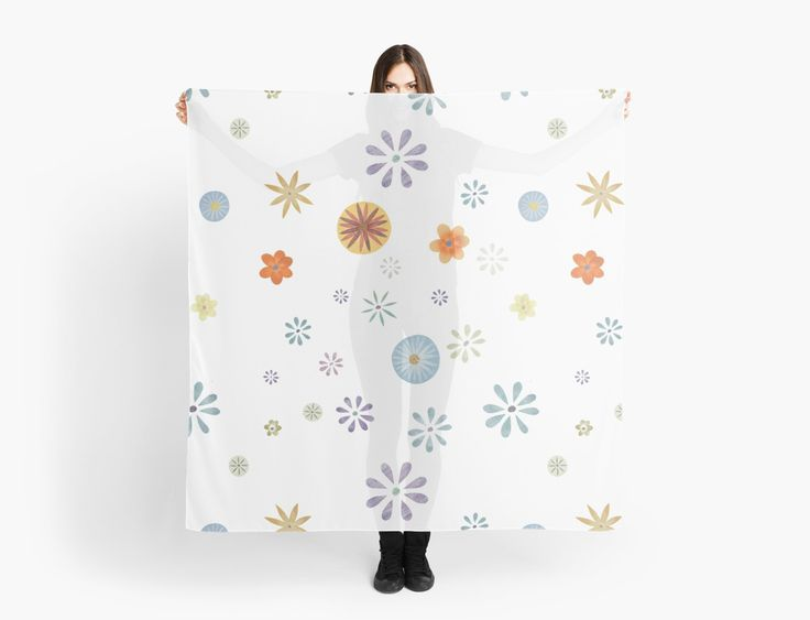Flower Spray White XL by Sandra Dionisi