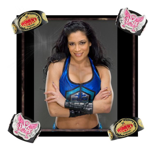 """Wwe melina edit"" by nancy-nd ❤ liked on Polyvore"