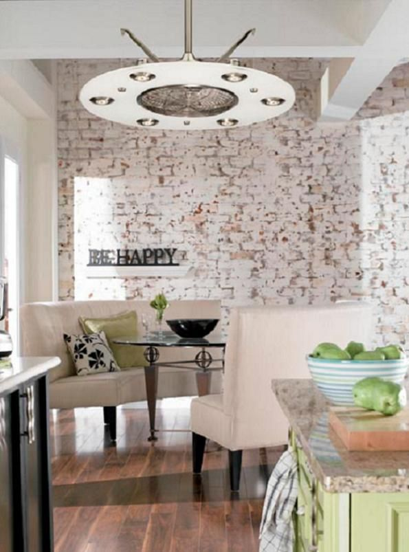kitchen ceiling fans this one is very interesting - Kitchen Ceiling Fan Ideas