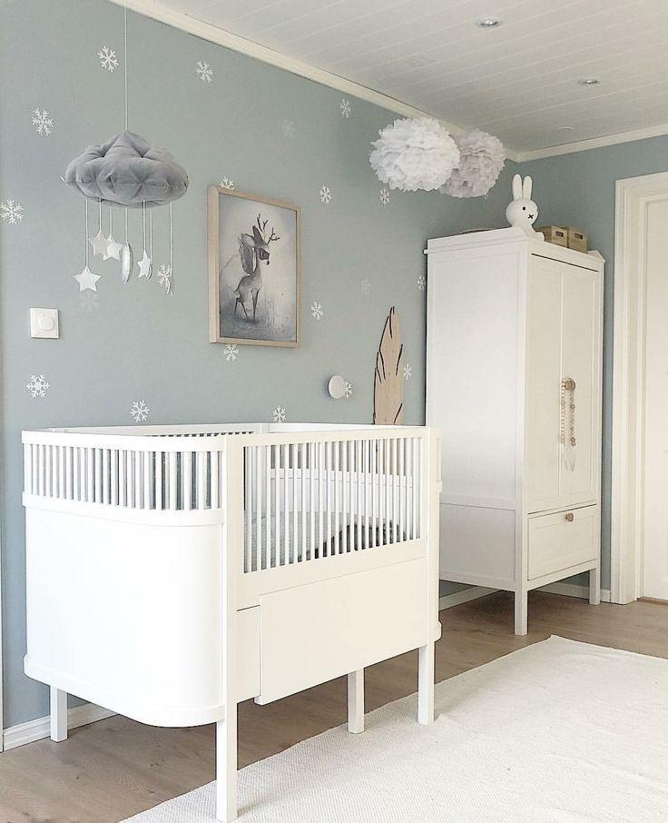 Skandinavisches Kinderzimmer.
