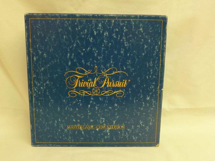 Trivial Pursuit Master-Genus Edition #7 by Horn Abbot Ltd. (1981) NIB #HornAbbotLtd