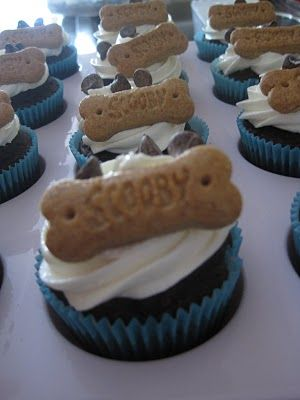 Smores Scooby Snack Cupcakes