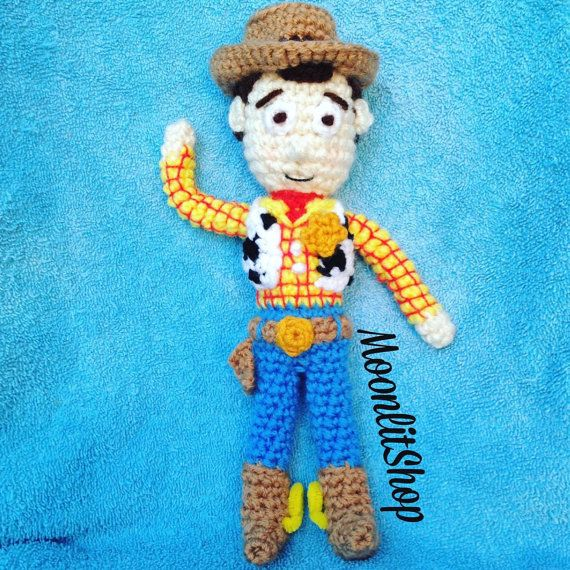 Toys Story Amigurumi : 1000+ images about MoonlitShop on Pinterest